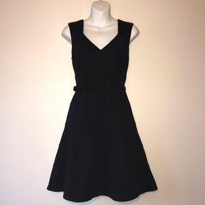 White House Black Market Slimming Black Dress